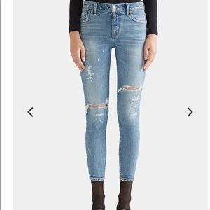 Agolde NWT Sophie High-Rise Skinny Crop-Outsider